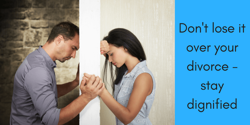 How to stay dignified during divorce  so you can put a positive spin on your life